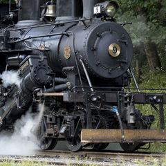 Climax Locomotive No. 9