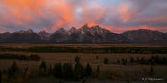 L0046, Wyoming, Signature-Series, Fiery Sunrise